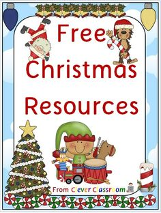 Here's a link to all of Clever Classroom's free Christmas downloads. Pop in and download them for free