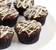 """""""Better than sex"""" chocolate cupcakes"""