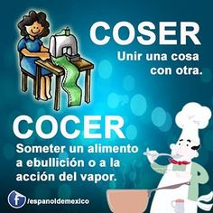 Coser/ cocer