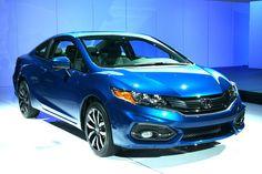 2013/2014 Los Angeles Auto Show photo gallery: 2014 Honda Civic Coupe