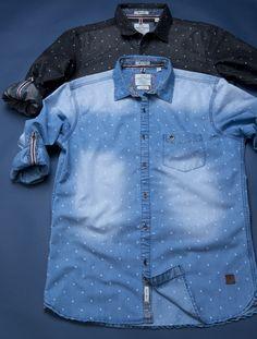 8de64d6389 Men shirt detailing.denim shirt. vintage