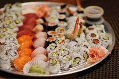 One of my many favorite foods!! Yummy sushi!!
