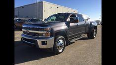 Used 2015 Chevrolet Silverado 3500 Diesel Grey *For Sale* / 1LZ, 4X4 /