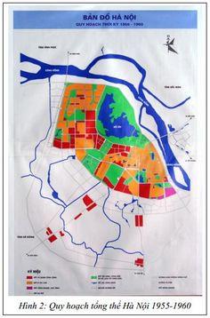 Bật mí những quy hoạch Hà Nội 60 năm qua (1) Hanoi, Old And New