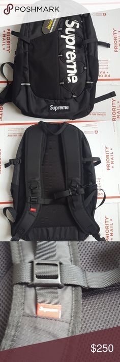 SS17 SUPREME CORDURA BACKPACK SUPREME CORDURA BACKPACK FROM SS17. FITS A LAPTOP, BRAND NEW WITH TAGS. 100% AUTHENTIC GUARANTEED! No trades Supreme Bags Backpacks