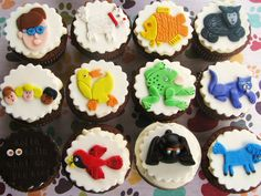 Brown Bear Brown Bear What Do You See cupcakes