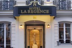 Hotel La Regence Etoile...this is where we're staying in Paris.