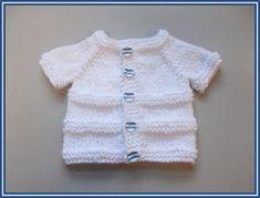 marianna's lazy daisy days: ROMA ~ Premature Baby Cardigan Jacket - Free Pattern : marianna's lazy daisy days: ROMA ~ Premature Baby Cardigan Jacket – Free Pattern Baby Cardigan Knitting Pattern Free, Baby Boy Knitting Patterns, Baby Sweater Patterns, Knit Baby Sweaters, Knitted Baby Clothes, Knitting Designs, Baby Knits, Preemie Clothes, Kids Knitting