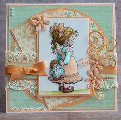 A Scrapjourney: Sarah Kay Sarah Kay, Baby Cards, Kids Cards, Card Making Inspiration, Making Ideas, Magnolia Stamps, Kai, Beautiful Handmade Cards, Marianne Design