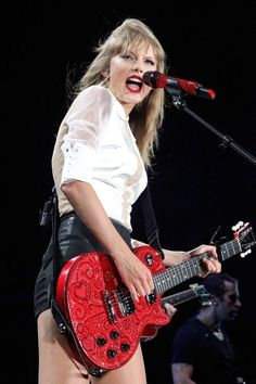 Taylor Swift's Red is the perfect music to listent to with your #HTCOneRed