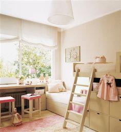 Vamos a poner habitaciones dobles infantiles, es mas complicado encontrar inspiracion cuando el dormitorio que queremos poner a nuestros peques es doble y no in