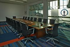 Kuehne + Nagel's New Atlanta Offices by Veenendaalcave featuring Too Handsome by Patcraft via officesnapshots.com