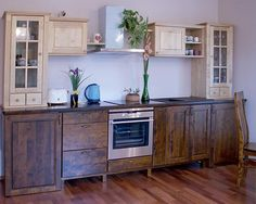 furniture instead of bottom cabinets!