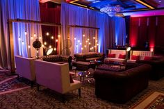 The Destination South Meetings  Events transformed the ballroom at the Omni Hotel into a dramatic Speakeasy using industrial elements. The results were stunning! #eventphotography #photography #eventplanning #planning #eventvenues #venues