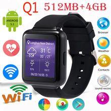 "Lemado Q1 Smart Watch MTK6580 512MB+4GB 1.54"" Display Android 5.1 WiFi GPS 3G Bluetooth Smartwatch Support NANO Sim Card Phone Digital Guru Shop  Check it out here---> http://digitalgurushop.com/products/lemado-q1-smart-watch-mtk6580-512mb4gb-1-54-display-android-5-1-wifi-gps-3g-bluetooth-smartwatch-support-nano-sim-card-phone/"