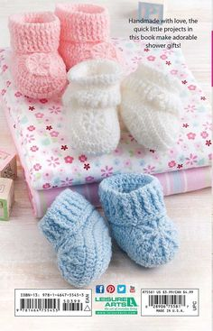 crochet baby ideas Pink Lady Baby Booties Free Crochet Pattern - You can crochet beautiful baby booties as a gift or for your own little one with the Pink Lady Baby Booties Free Crochet Patterns. They are easy.Baby shoes crochet instruction and 23 lo Crochet Baby Boy Hat, Crochet Bib, Crochet Baby Blanket Beginner, Knit Baby Booties, Baby Boy Hats, Booties Crochet, Crochet Baby Clothes, Newborn Crochet, Crochet Shoes