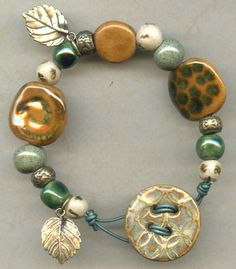 kazuri beads from Antelope Beads