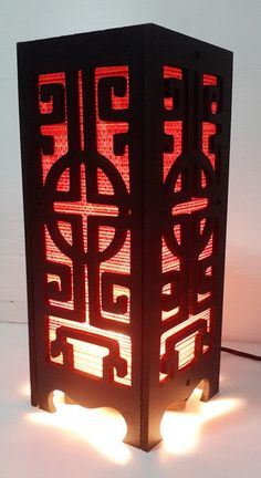 Asian Table Lamps Red Dragon Chinese Asian Oriental Decor Style Bedside Table Lamp