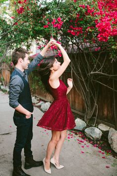 Colleen and Joshua // Los Angeles Engagement