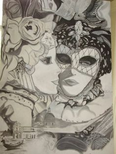 VENETIAN MASKS by alessandro cedroni on ARTwanted