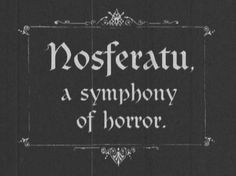 This is the first truly horrifying movie I ever saw after only Vincent Price type Friday night horror movies.  I was just 7 barely & it was a special viewing of the original silent movie as part of cultural history. It opened up a whole new gothic world for me.  :)  Then I read Dracula & I was home ...