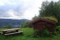 Selfors mountain with nice views of the city and Ranfjord