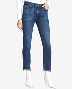 4b8a830832f Modern Standard Cropped Straight Leg Jeans