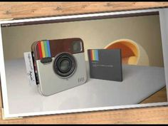 Awesome Instagram Socialmatic Camera, wanna have  2013 @nstagram