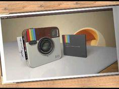 En 2014 saldrá a la venta cámara con Instagram.  Instagram Socialmatic Camera Overview