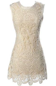 Victorian Secret Crochet Lace Dress.. MUST HAVE !!!!