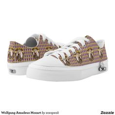Wolfgang Amadeus Mozart shoes from ZoeSPEAK.