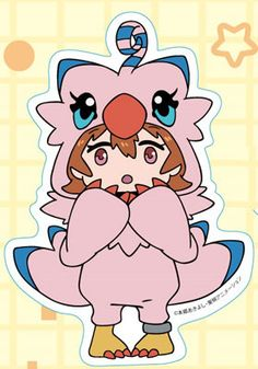 AmiAmi [Character & Hobby Shop] | Digimon Adventure tri. - Diecut Sticker (3) Sora Takenouchi(Pre-order)