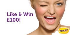 Try Peachy Loans new Facebook game Like and Win and you will have a chance to win £100!
