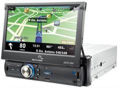 GPS Automotivo Multilaser P3211 Tela 7 TV Digital - Aalerta de radares e Atualização de Mapa