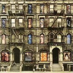 Lot 342 - Vintage LED ZEPPELIN Physical Graffiti - 2 x vinyl LPs - fab sliding window cover - Atlantic records 1975 Famous Album Covers, Greatest Album Covers, Classic Album Covers, Hard Rock, Peugeot, Heavy Metal, Led Zeppelin Physical Graffiti, Rockabilly, Led Zeppelin Albums