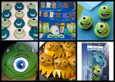 Monsters, Inc – Family Movie Night Monsters, Inc Cupcakes – By Make It Memorable Monster Burgers Monster Inc, Cupcakes – By Family Monsters, Inc. Pumpkin Movie Night Ideas Coloring Pages More Monsters Inc. Coloring Pages