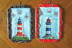 lighthouses) they are shortly going to Berlin.