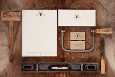 Red Stag Carpentry Identity