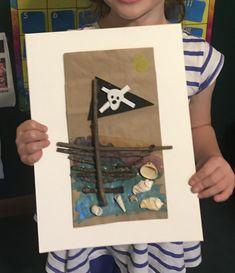 Pirate Crafts, Nature Crafts, Pirates, Playing Cards, Frame, Kids, Decor, Picture Frame, Young Children