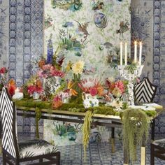 Christian Lacroix Reveries Wallpapers Christian Lacroix Wallpaper, Designer Wallpaper, French Vintage, Damask,