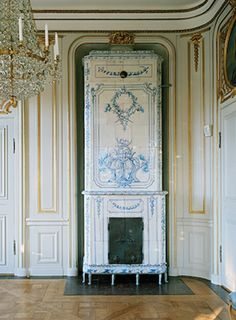 Neo-classical Stove - Perfect setting, very elegant!