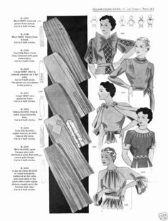 1936 Spring Eclair Coupe Paris Pattern Book Reprint Suits Dresses | eBay b and e
