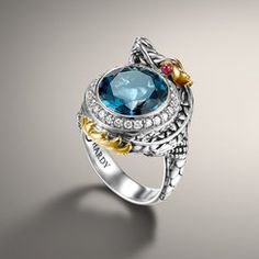 NAGA COLLECTION Small Dragon Ring  I want this