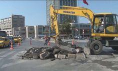 Taksim'de kazı çalışmaları başladı - http://turkyurdu.com/taksimde-kazi-calismalari-basladi/