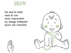 Learn to sign with your child - Baby Boy Names Baby Girl Names Simple Sign Language, Baby Sign Language, Learn To Sign, French Signs, Montessori Math, French Language Learning, Baby Learning, Baby Girl Names, Kids House
