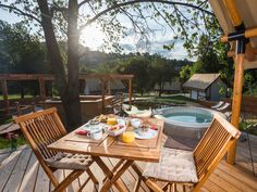 Exceptional breakfast is served on your terrace with a view on nature or you can enjoy your breakfast in bed.