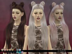 Little Piece Hair by Leah Lillith at TSR • Sims 4 Updates