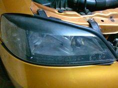 Naprawa świateł samochodowych: Polerowanie lamp Astra II