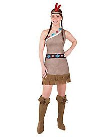 Adult Princess Native American Costume