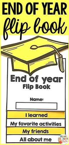 Are you looking for End of Year Activities? This flip book is the perfect end of year activity. Students will reflect on their school year. Flip books are hands-on, easy to assemble and fun! Plus, students get to leave with an awesome souvenir.